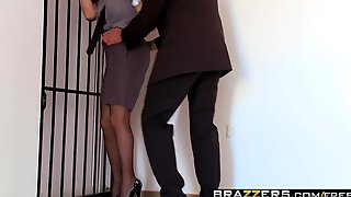 Brazzers - Big Tits In Uniform - Going Down scene starring R