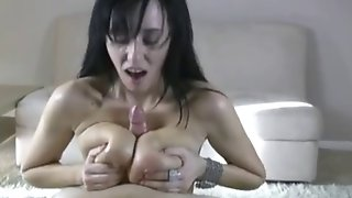 Milf Giving A Titjob Lesson BVR